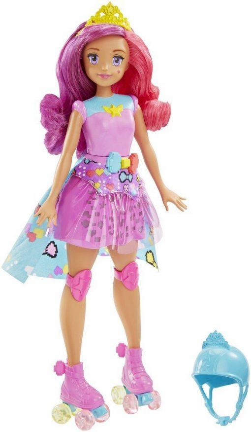 Barbie-Video-Game-Hero-Match-Game-Princess-Doll-Pink