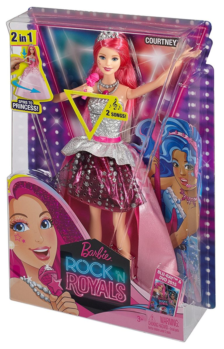 Barbie in Rock N Royals Singing Courtney Doll - Barbie Collectibles