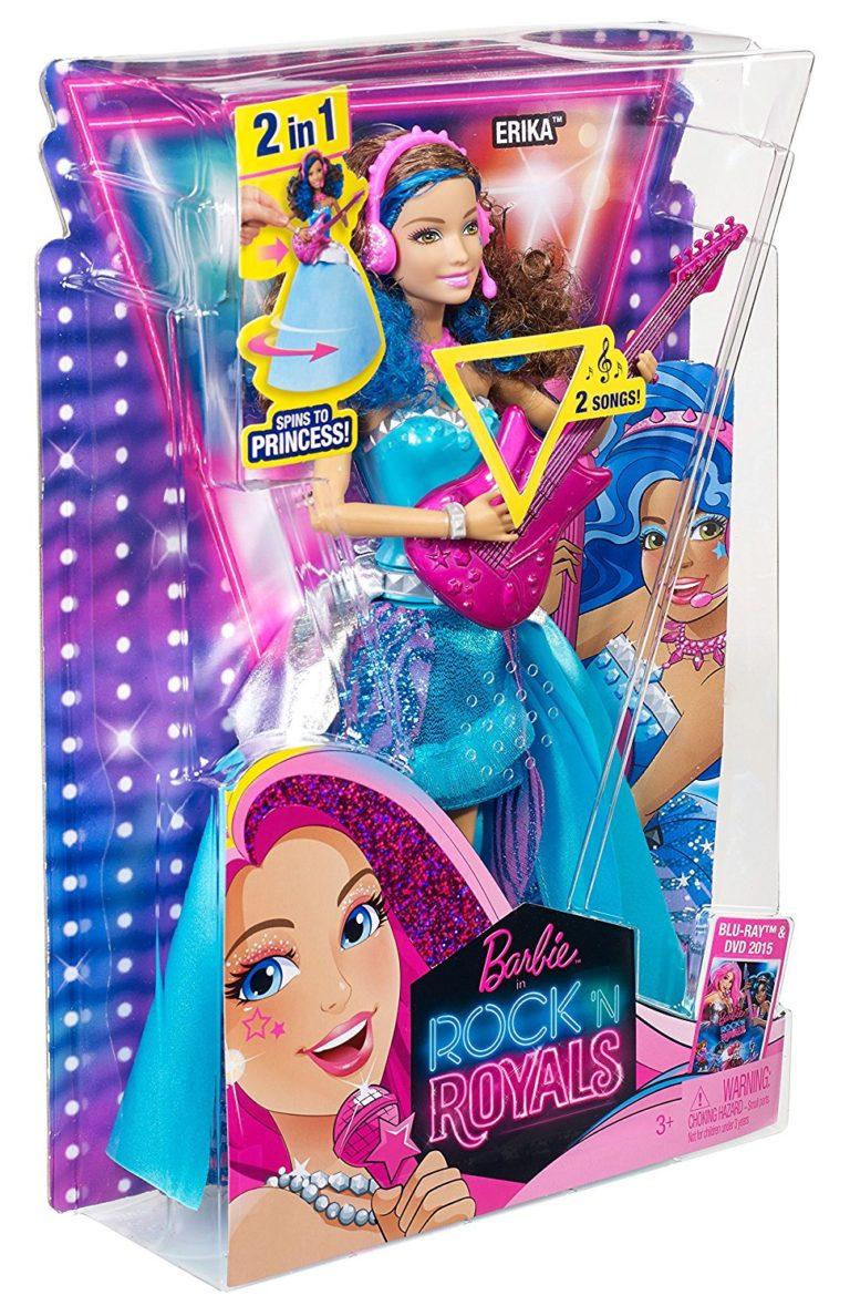 Barbie in Rock n Royals Singing Erika Doll - Barbie Collectibles