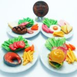 Dollhouse Kits miniature 4 Food Realistic Barbie Collectibles it Very Cute