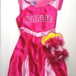 Exclusive-Barbie-Pink-Cheerleader-Dress-with-Bonus-Pompoms-Size-4-6X-by-Mattel