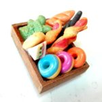 GRC[TM] Food Dollhouse Miniature Scale Barbie New Kitchen Vintage Miniatures Accessories Dessert Handmade