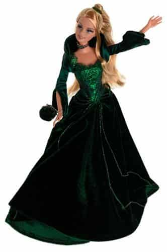 Holiday 2004 Barbie - Green Velvet Dress