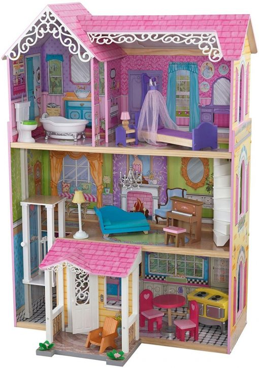 KidKraft-Sweet-Pretty-Dollhouse-Toy