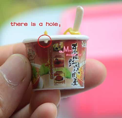 Seafood Instant Noodles Food 16 Scale Barbie Blythe Doll Dollhouse Miniature