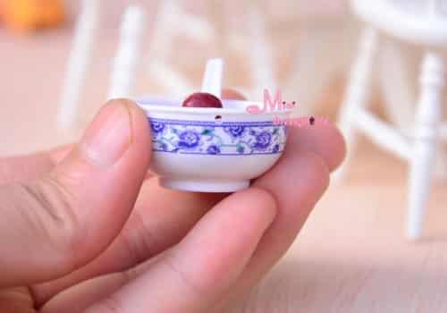 Sweet Dumplings Food 16 scale Barbie Blythe DOLL Dollhouse Miniature