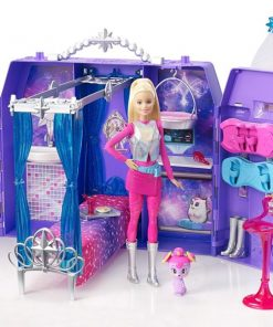 BARBIE STAR LIGHT STARLIGHT ADVENTURE GALAXY CASTLE PLAYSET (DPB51)