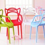 16 Dollhouse Miniature Art chair Armchair Wholesale 4PCS For Barbie BJD