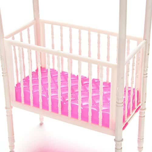 Fashion Baby Doll Bed And Crib Bedroom Accessories Barbie Collectibles