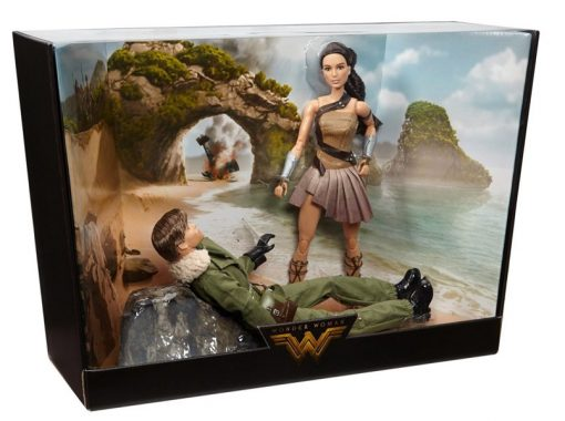 Barbie Wonder Woman Paradise Island Giftset, 2-Pack