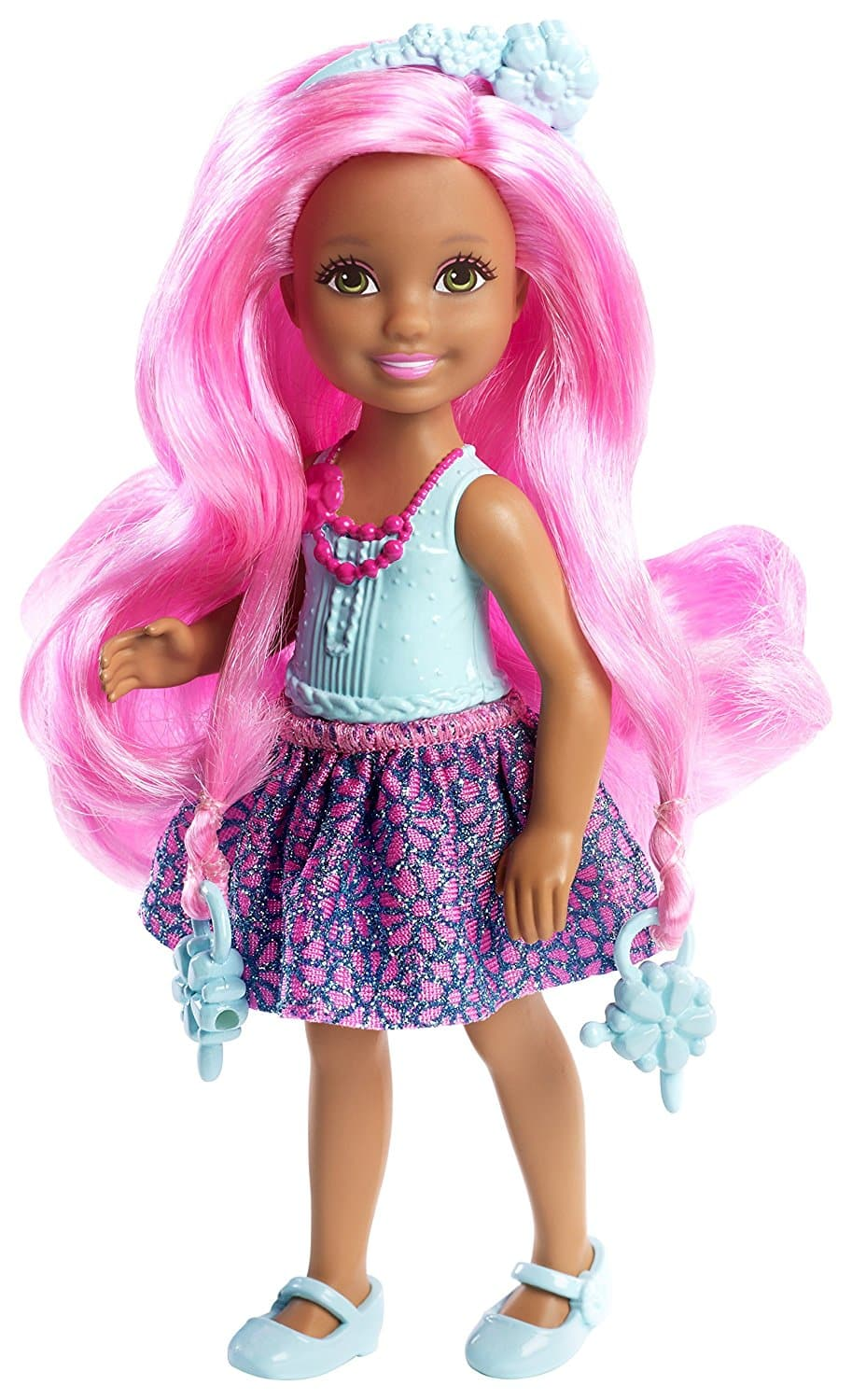 Barbie Endless Hair Kingdom Chelsea Doll Blue Barbie Collectibles
