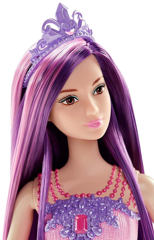 Barbie Endless Hair Kingdom Princess Doll, Purple   Barbie ...