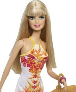 Barbie Fashionista Barbie Doll, White Floral Dress