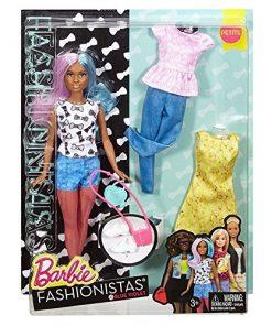 Barbie Fashionistas Doll & Fashions Blue Violet, Petite