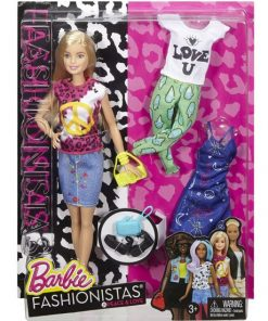 Barbie Fashionistas Doll & Fashions Peace & Love, Blonde