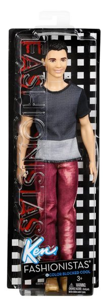 Barbie Fashionistas Ken Doll, Blocked Cool