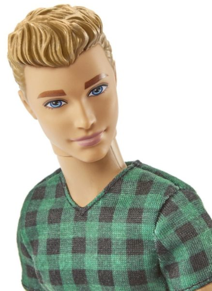 Barbie Fashionistas Ken Doll, Checked Style