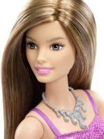 Barbie Glitz Doll, Purple Dress