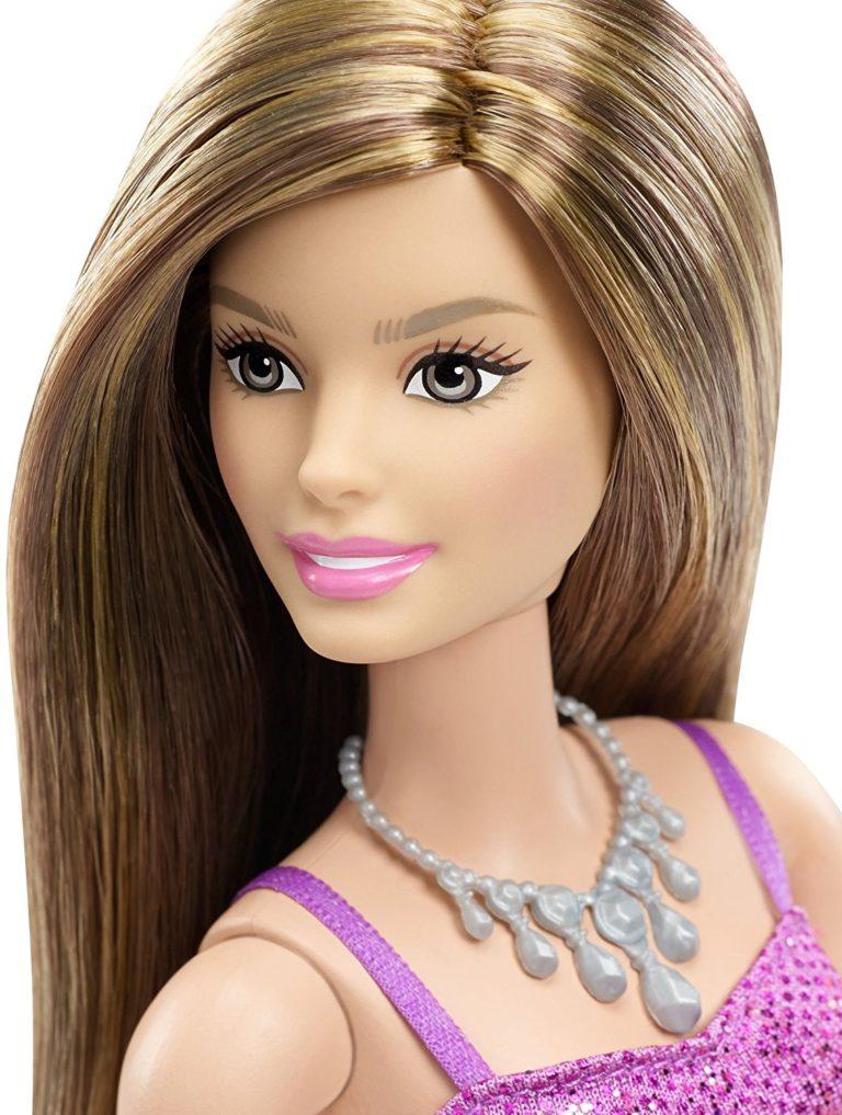 Barbie Glitz Doll, Purple Dress