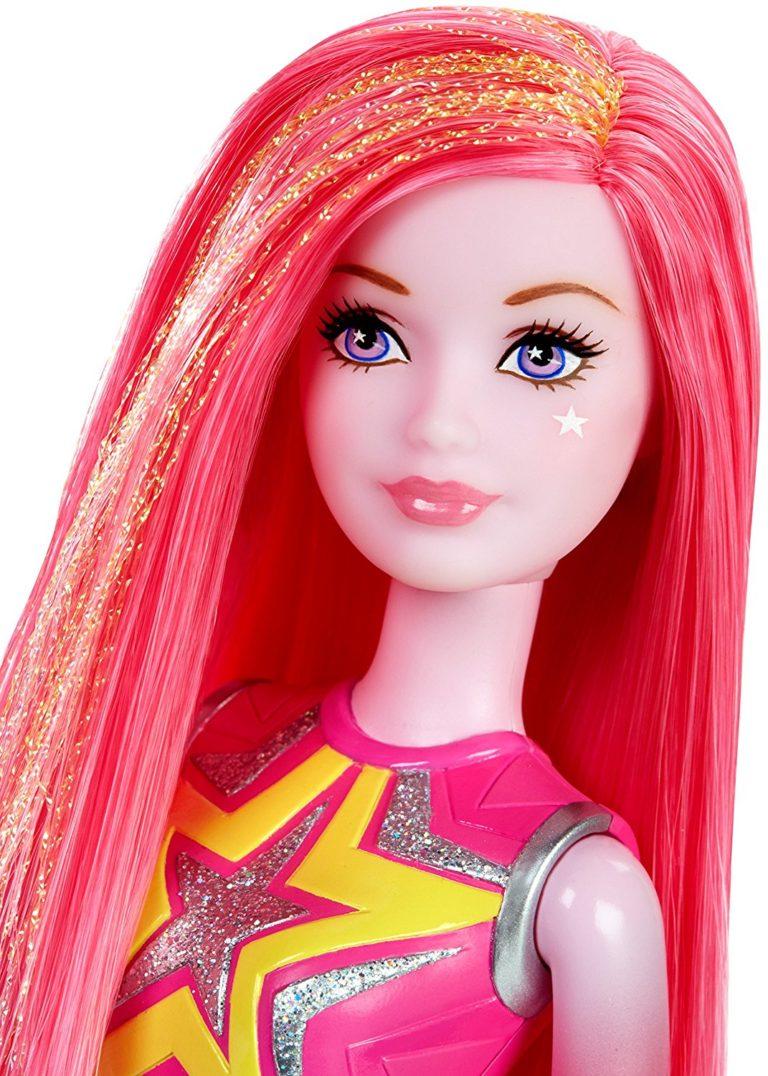 Barbie Star Light Adventure Co-Star Doll, Pink