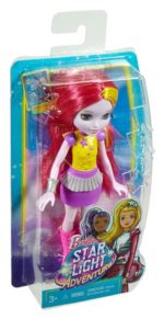 Barbie Star Light Adventure Pink and Yellow Hair Junior-Sized Doll