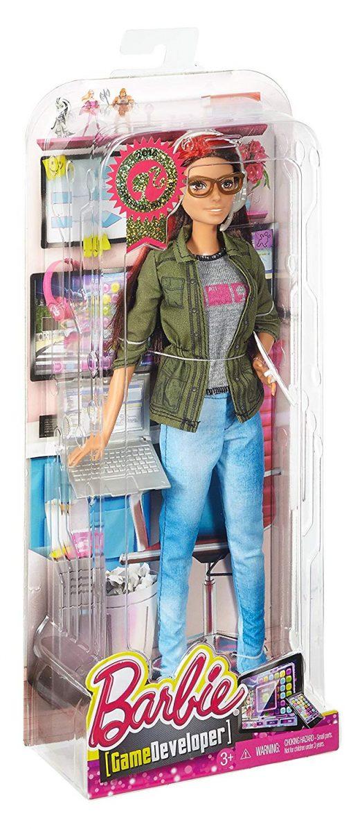 Barbie Careers Game Developer Doll 8