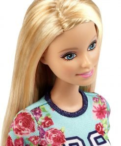 Barbie Fashionistas Doll Floral Top and Striped Skirt - Original 3