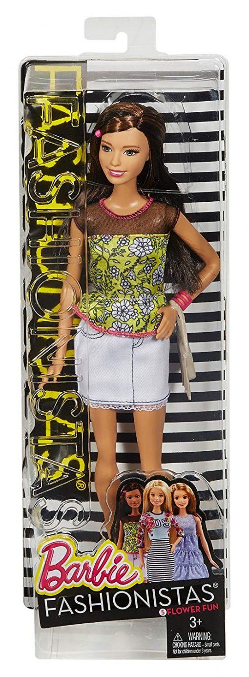 Barbie Fashionistas Doll Flower Fun, #5 4