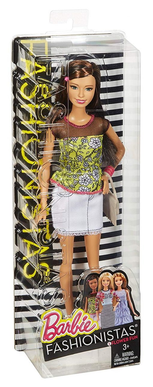 Barbie Fashionistas Doll Flower Fun, #5 5