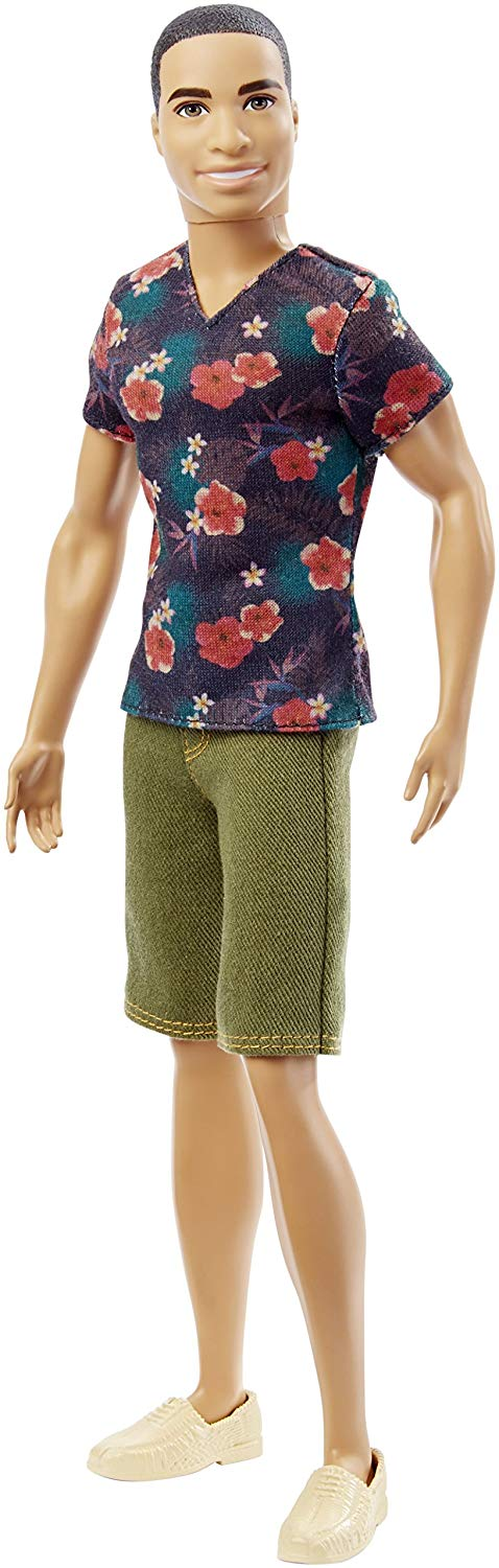 Barbie Fashionistas Ken Doll, Floral Tee 2