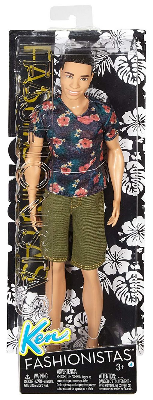 Barbie Fashionistas Ken Doll, Floral Tee 5