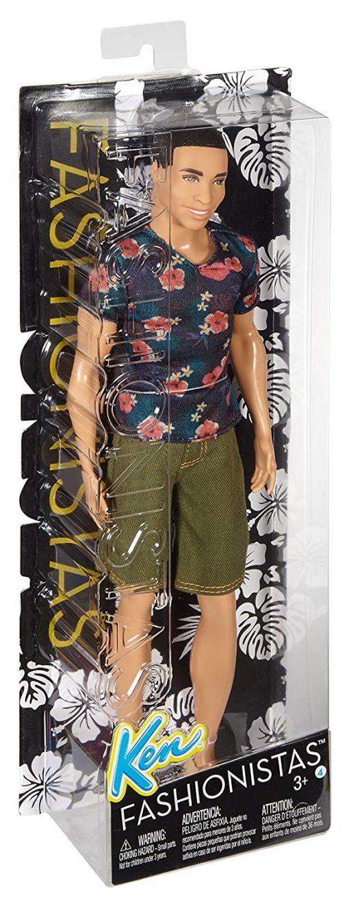 Barbie Fashionistas Ken Doll, Floral Tee 6