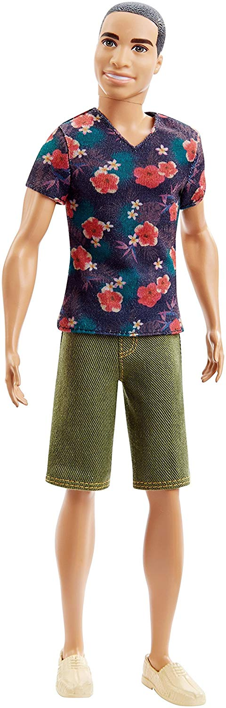 Barbie Fashionistas Ken Doll, Floral Tee