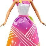Barbie Rainbow Princess Cove Light Show Doll, Brunette