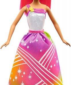 Barbie Rainbow Princess Cove Light Show Doll, Brunette