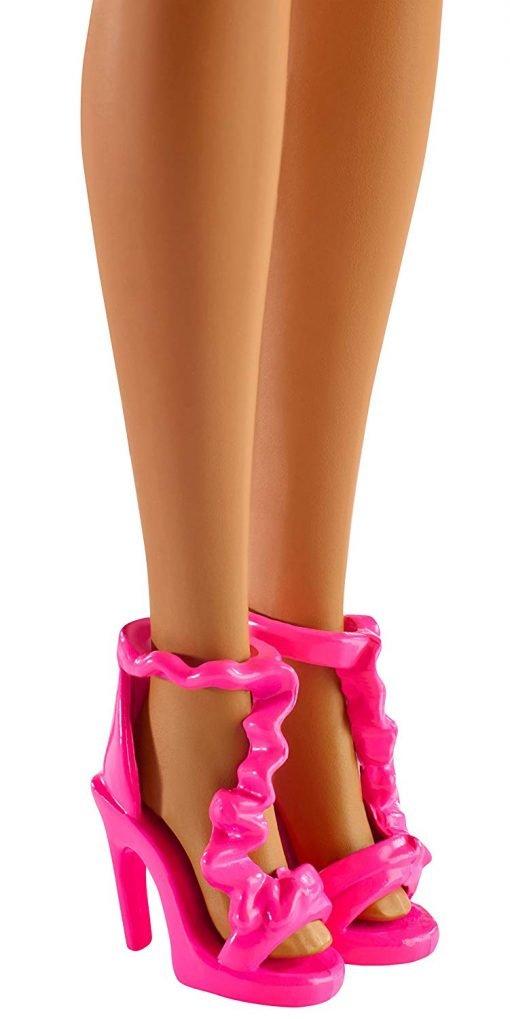 Barbie Rainbow Princess Cove Light Show Doll, Brunette 7