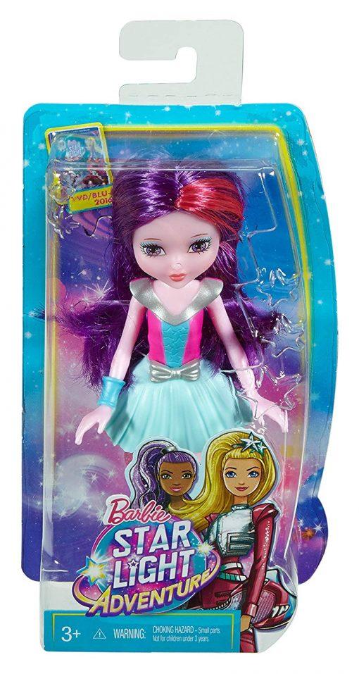Barbie Star Light Adventure Junior-Sized Doll, Purple 5