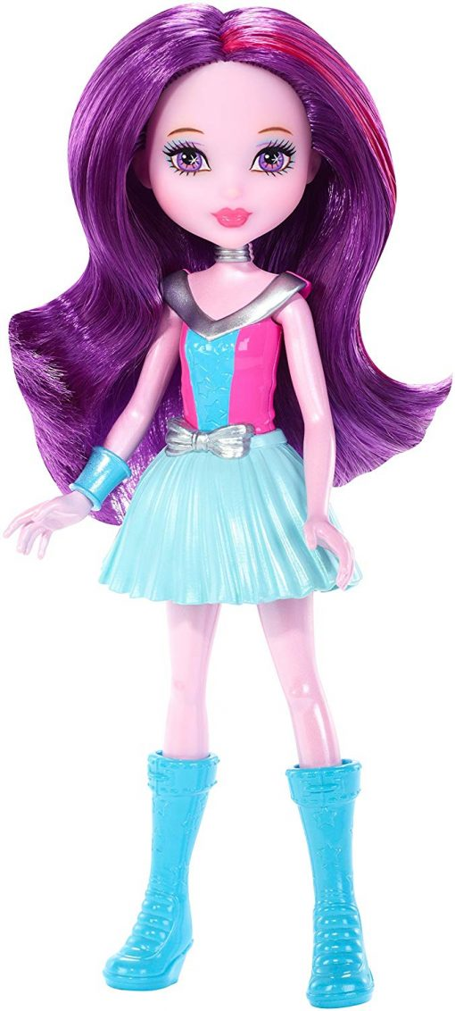 Barbie Star Light Adventure Junior-Sized Doll, Purple