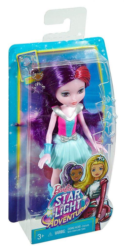 Barbie Star Light Adventure Junior-Sized Doll, Purple 6