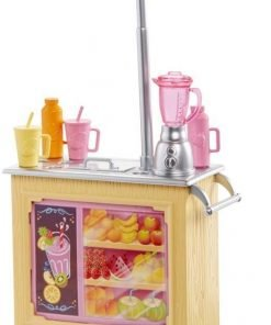 Barbie Careers Smoothie Chef Playset with Brunette Doll 2