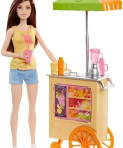 Barbie Careers Smoothie Chef Playset with Brunette Doll