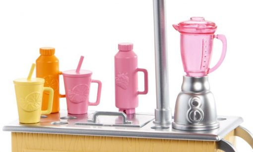 Barbie Careers Smoothie Chef Playset with Brunette Doll 3