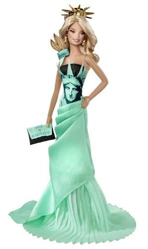 Barbie Collector - Dolls of the World - Statue of Liberty - Barbie Puppe