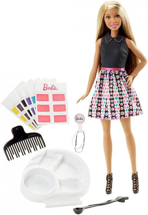 Barbie Mix 'N Color Barbie Doll Brunette 11
