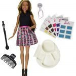 Barbie Mix 'N Color Barbie Doll Brunette