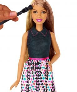 Barbie Mix 'N Color Barbie Doll Brunette 2