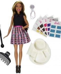 Barbie Mix 'N Color Barbie Doll Brunette