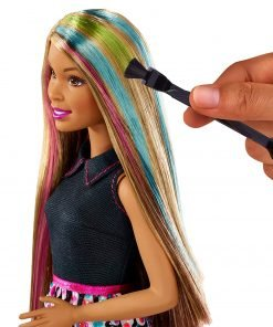 Barbie Mix 'N Color Barbie Doll Brunette 3