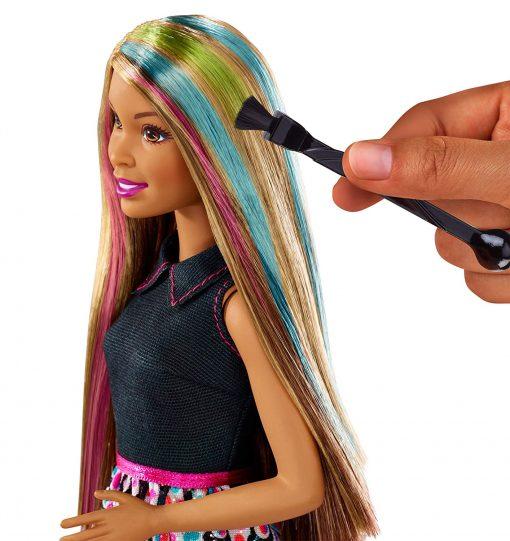 Barbie Mix 'N Color Barbie Doll Brunette 3