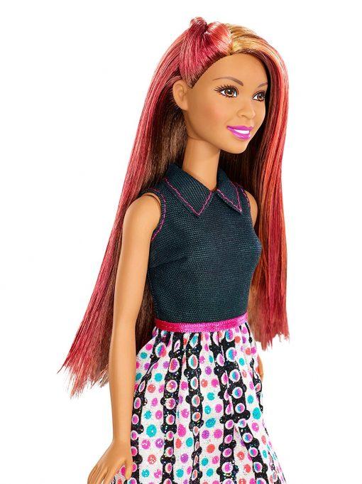 Barbie Mix 'N Color Barbie Doll Brunette 5